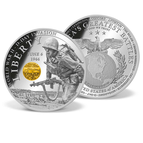 World War II - D-Day Invasion Commemorative Coin US_1701881_1