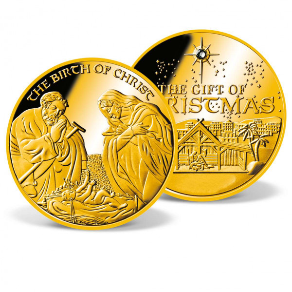 Birth of Christ Crystal-Inlay Commemorative Coin US_9531262_4
