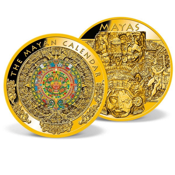 Colossal Mayan Calendar Commemorative Coin US_8330501_1