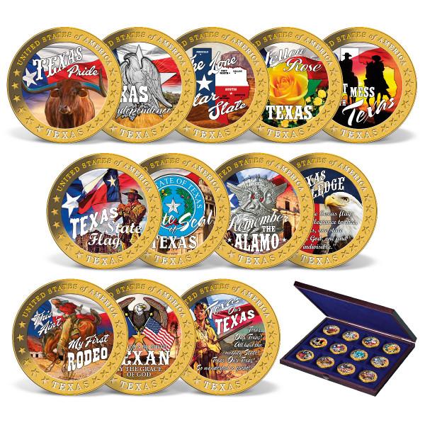 Pride of Texas Coin Set