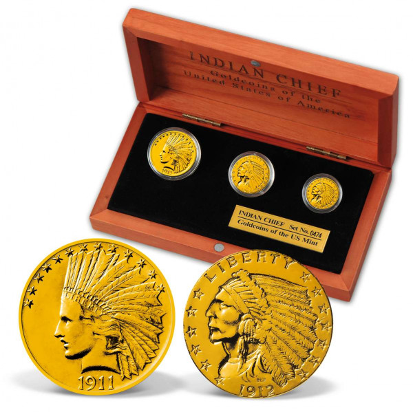 Indian Head Gold Coin Set US_2530149_1