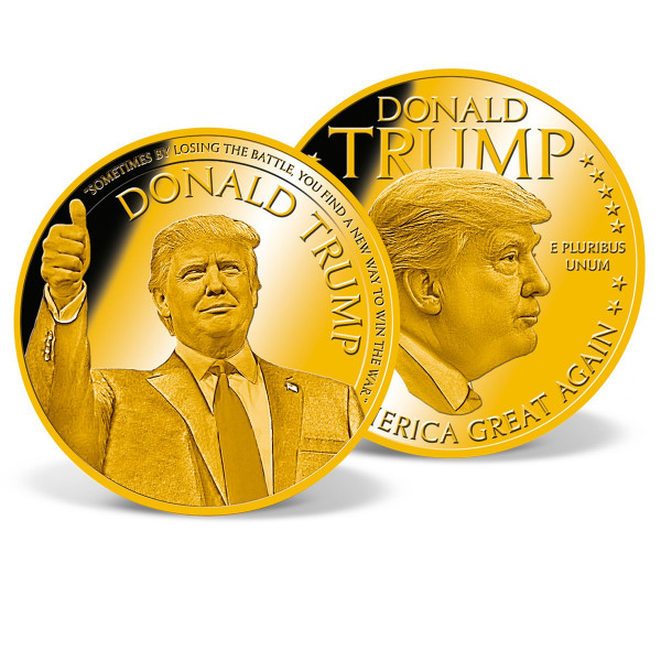 Donald Trump - Make America Great Again Commemorative Coin Set US_9442162_1