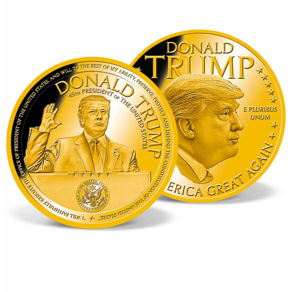 Donald Trump Oath of Office Commemorative Coin US_9442135_1