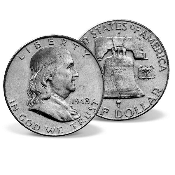 1948 Franklin Silver Half Dollar US_2716959_1
