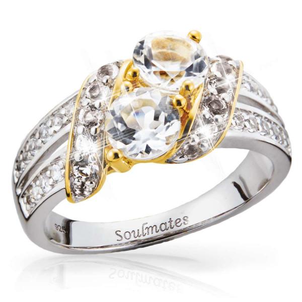 Soul Mates White Topaz Ring US_3008598_1