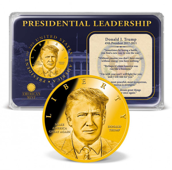 Donald Trump Presidential Leadership Coin Tribute US_9173058_1