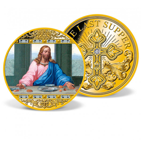 Jesus at the Last Supper Colossal Commemorative Coin US_9531351_1