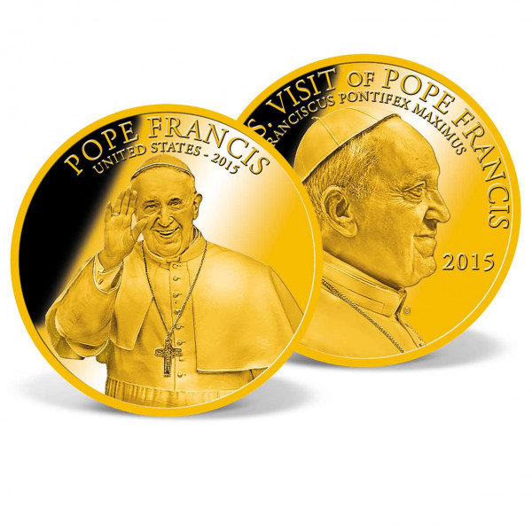 Pope Francis - USA 2015 Commemorative Coin US_9533461_1