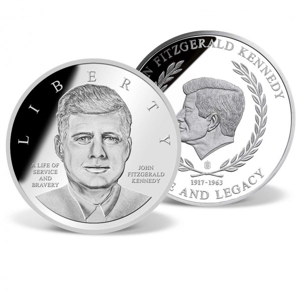 John F. Kennedy's 50th Anniversary Commemorative Coin US_9175074_1