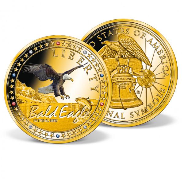 Bald Eagle - National Bird Colossal Commemorative Coin