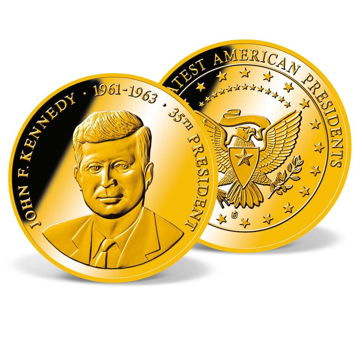 john fitzgerald kennedy coin