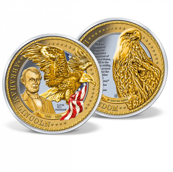 Gigantic Abraham Lincoln Commemorative Coin