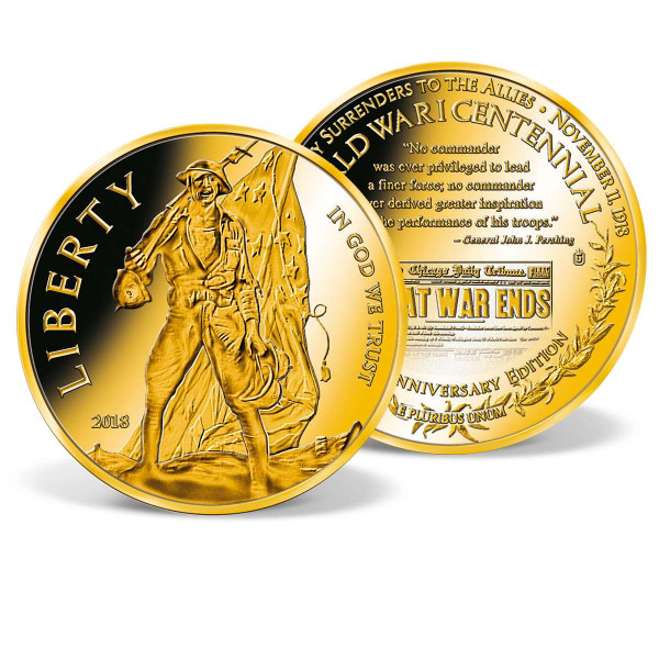World War I Centennial Commemorative Coin US_9175677_1