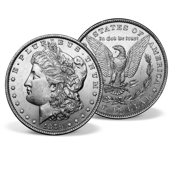 1879-O Morgan Dollar Silver Coin