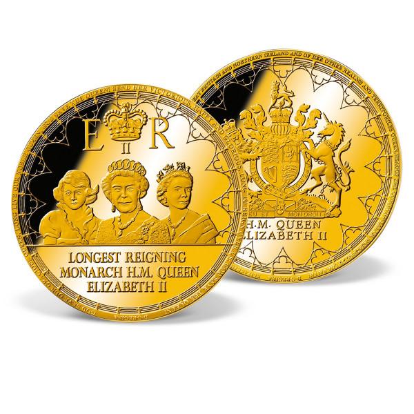Queen Elizabeth II - Longest Reigning Monarch Jumbo Commemorative Coin US_9173172_1