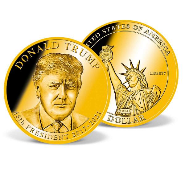 Donald Trump Presidential Dollar Trial US_9170498_1