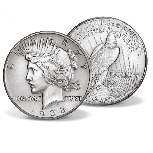 1935 Silver Peace Dollar US_2717515_1