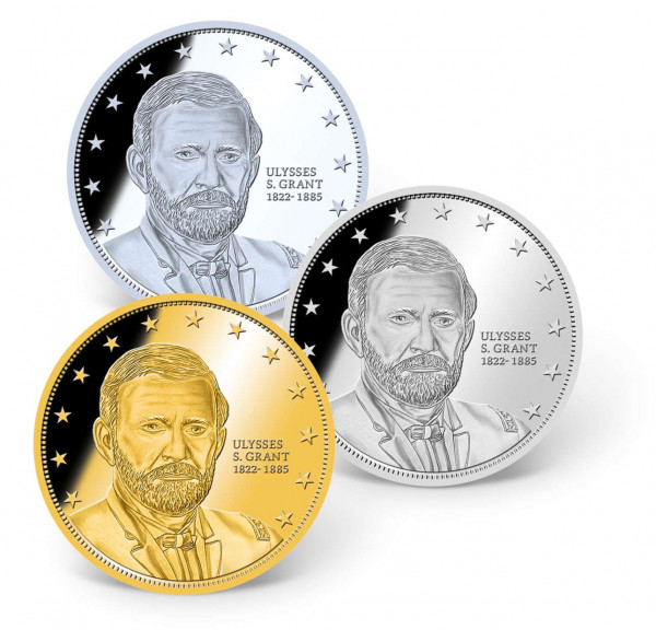 General U.S. Grant Precious Metal Coin Set US_1681289_1
