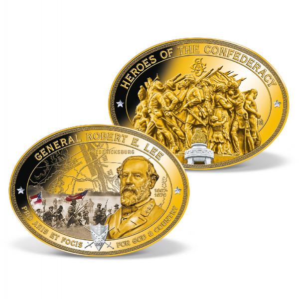 Robert E. Lee Oval Commemorative Coin