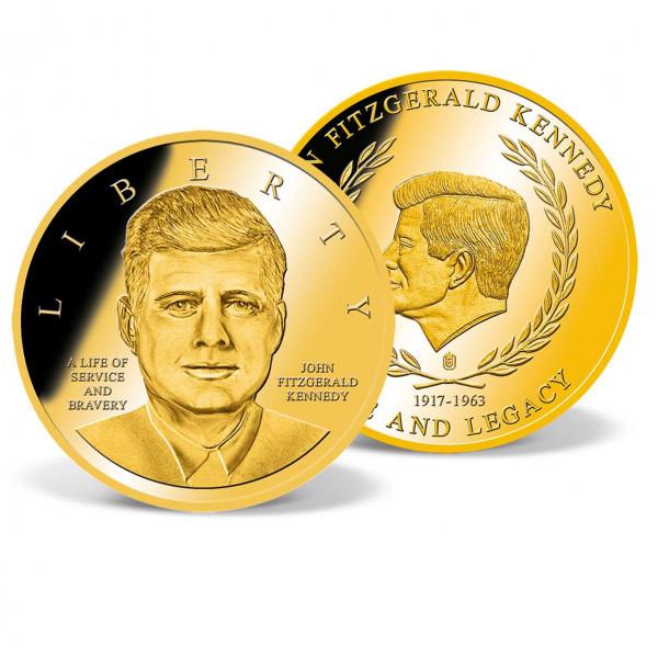 John F. Kennedy Anniversary Commemorative Coin US_2341361_1