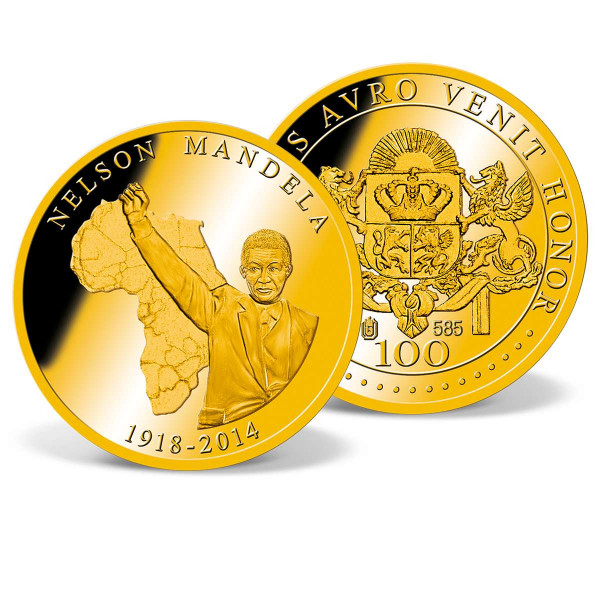 Nelson Mandela Commemorative Gold Coin US_2160181_1