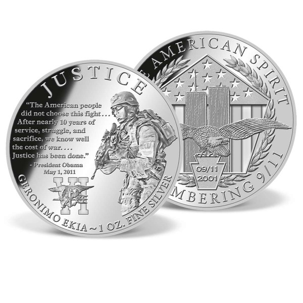 Justice - Operation Geronimo Commemorative Silver Coin US_9175117_1
