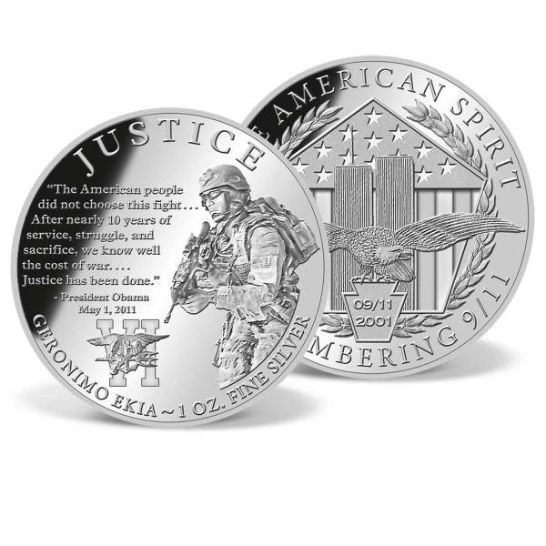 Justice - Operation Geronimo Commemorative Silver Coin US_9175117_1