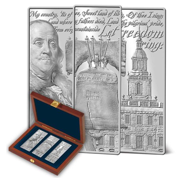 Let Freedom Ring Silver Ingot Set US_9171444_1