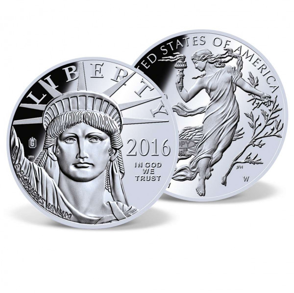 2016 $100 Platinum Eagle Replica Coin US_8201961_1