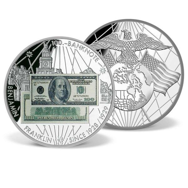 $100 Benjamin Franklin Banknote Commemorative Coin US_9184024_1