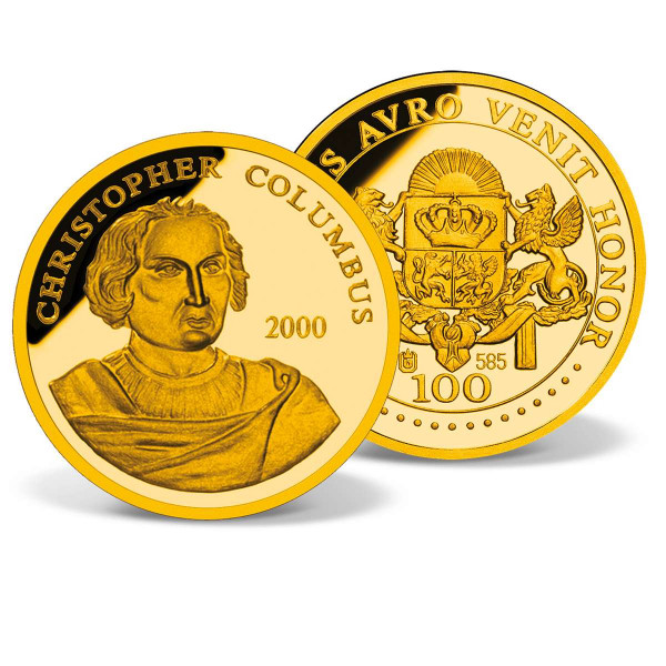 Christopher Columbus Commemorative Gold Coin US_2160090_1