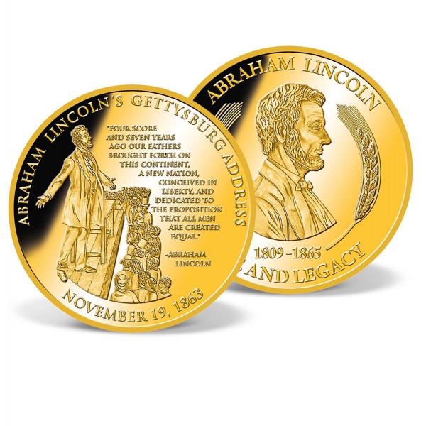 Lincoln´s Gettysburg Address Commemorative Coin US_9170953_1
