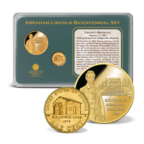 Lincoln Birthplace Memorial Coin Set US_9170973_1