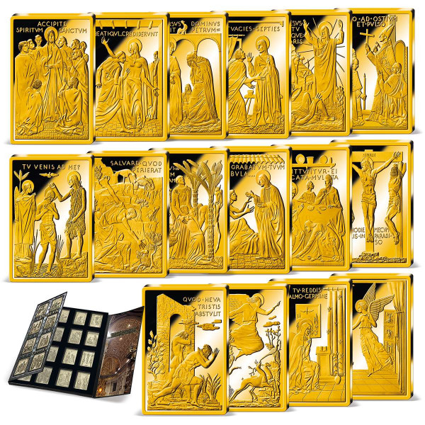 Holy Door Commemorative Ingot Set US_9037090_1