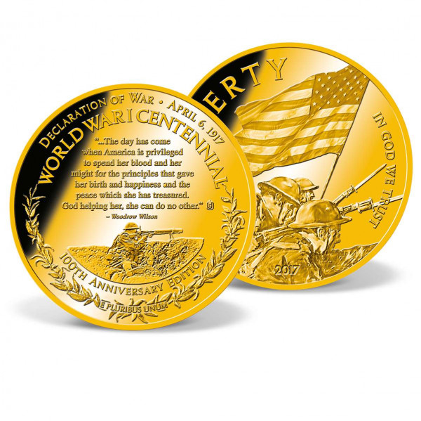 World War I Centennial Commemorative Coin US_9175662_1