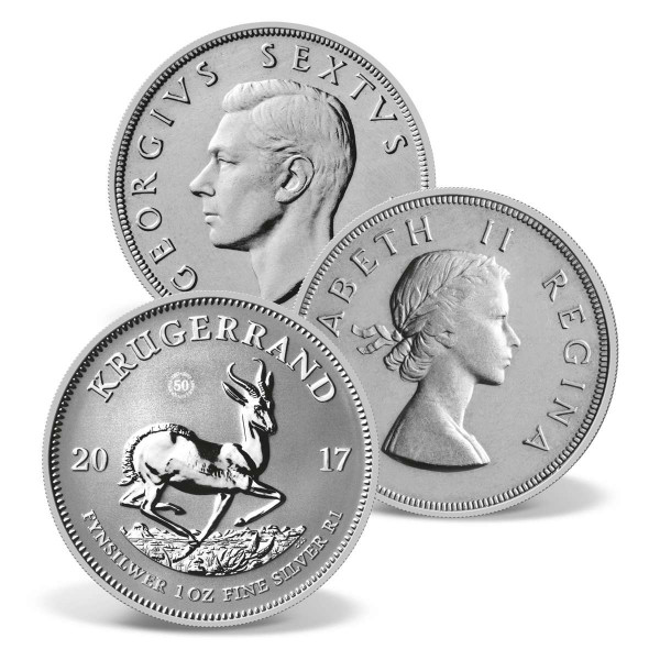 South Africa's Springbok Solid Silver Coin Set US_2422018_1