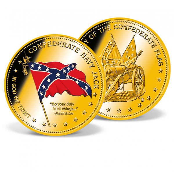 Confederate Navy Jack Commemorative Coin US_9172931_1