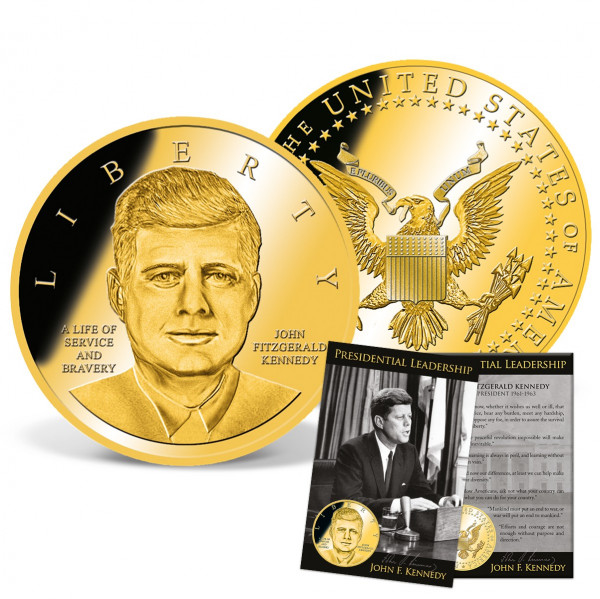 JFK Presidential Leadership Commemorative Coin US_9172980_1