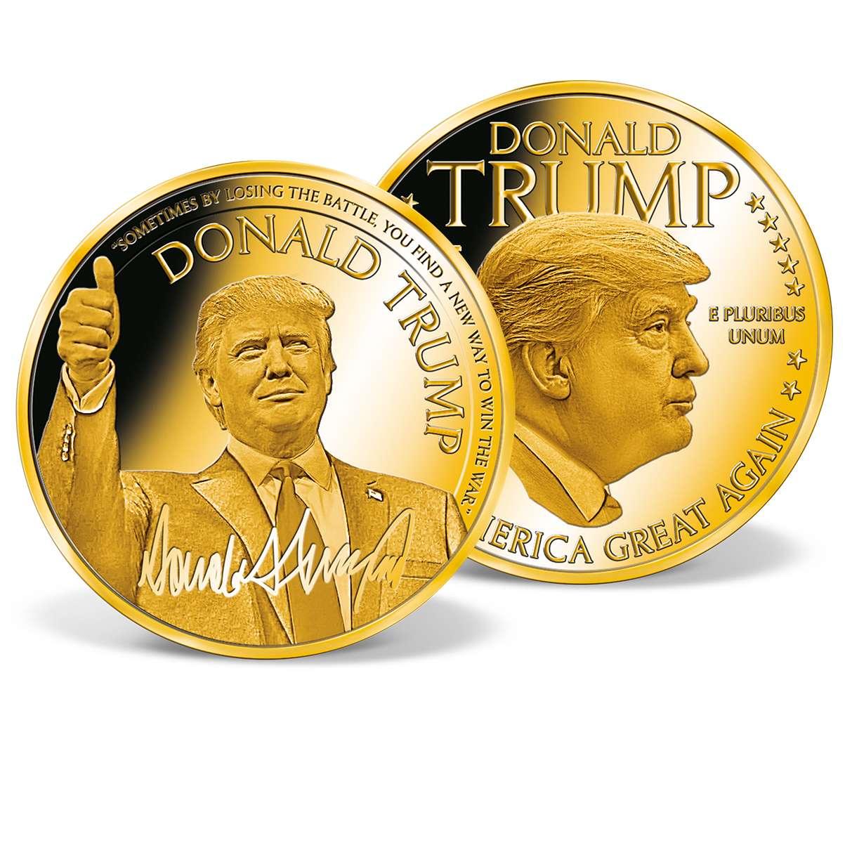 Donald Trump Make America Great Again Commemorative Gold