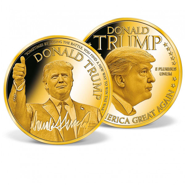 Donald Trump - Make America Great Again Commemorative Gold Coin US_9442191_1