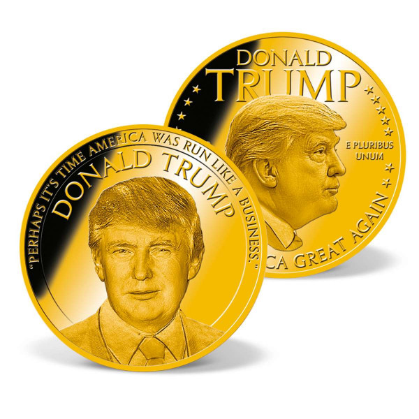 Donald Trump - Run America like a Business Commemorative Coin US_9442123_1