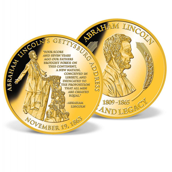 Lincoln´s Gettysburg Address Commemorative Coin US_9170953_1