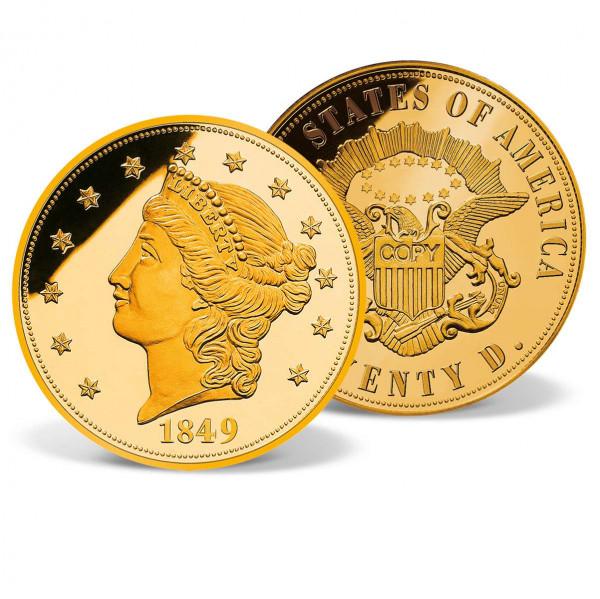 1849 Liberty Head Gold Double Eagle Replica US_9859350_4