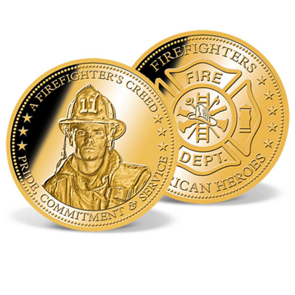 A Firefighter's Creed Commemorative Coin US_9172407_1