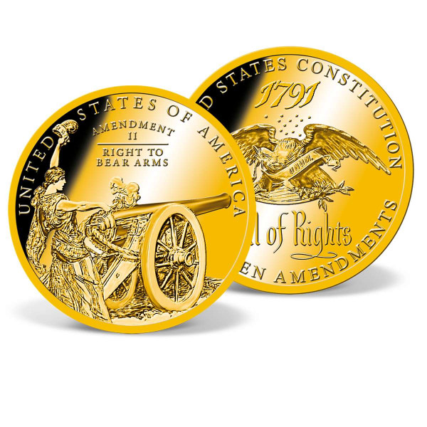 The Bill of Rights - Second Amendment Commemorative Coin US_8220062_1