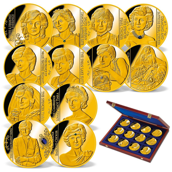 Lady Diana - Her Life in Jewels Coin Set US_1950638_1
