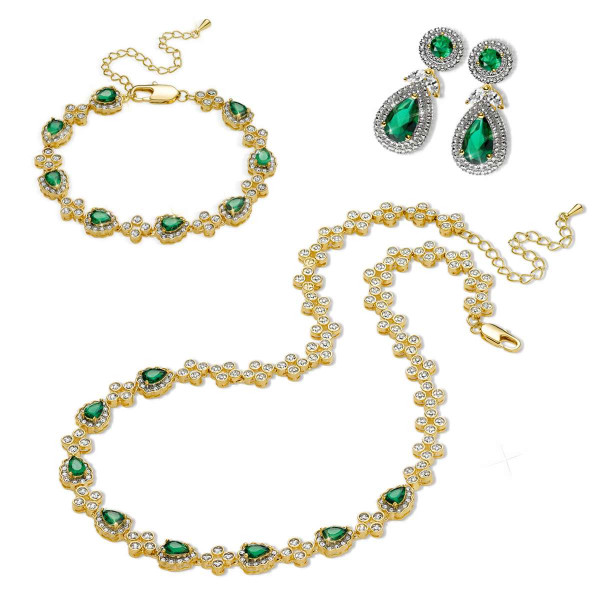 Jackie Kennedy Presidential Jewelry Set US_3333504_1