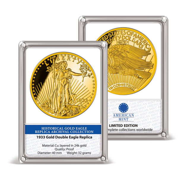1933 Double Eagle Archival Edition Commemorative Coin US_9172700_1
