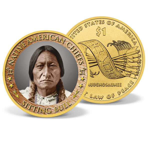 Sitting Bull Commemorative $1 Coin US_2540570_1