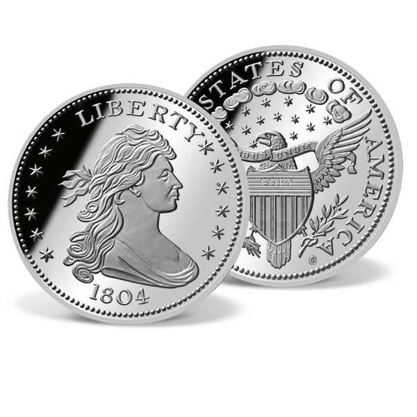 1804 Draped Bust Silver Dollar Replica US_8300530_1